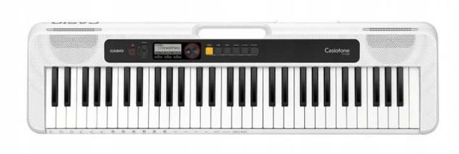 Keyboard Casio CT-S200 WH + Zasilacz ZESTAW ! HIT!