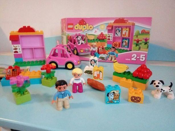 Конструктор для девочек 39 деталей LEGO DUPLO Супермаркет (10546)