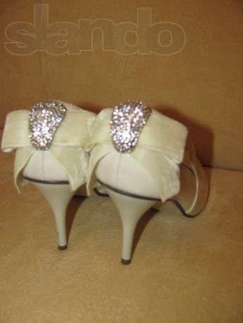 Продам свадебные туфли смешную цену