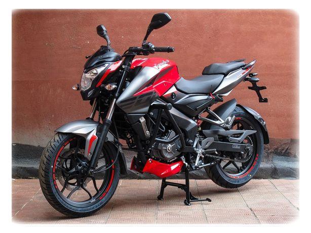 мотоцикл (мото) bajaj pulsar ns 200 Создан в стране Индия