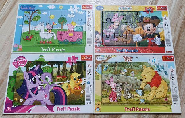 Puzzle Trefl dla najmłodszych