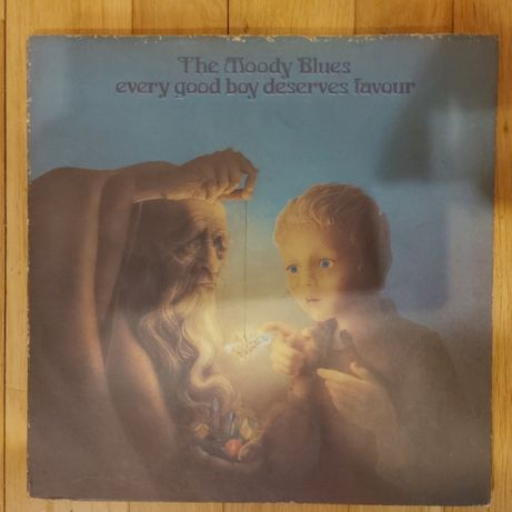 The Moody Blues, Every Good Boy Deserves Favour, USA, db-