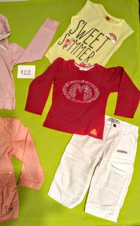 Ubranka dziewczęce rozm 122