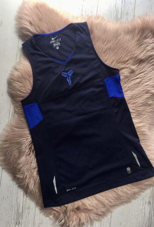 Granatowa sportowa bluzka NIKE DRI-FIT outdoor tech uniseks