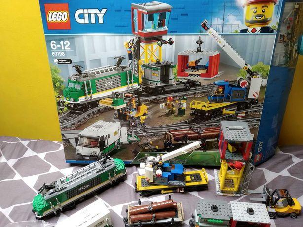Lego Pociąg towarowy 60198 kompletny karton