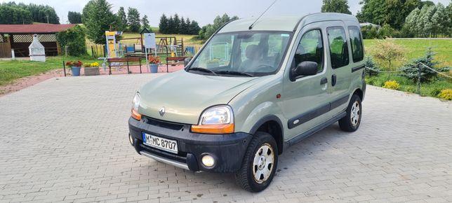 Renault Kangoo 4x4 1.6 benzyna! Klima!