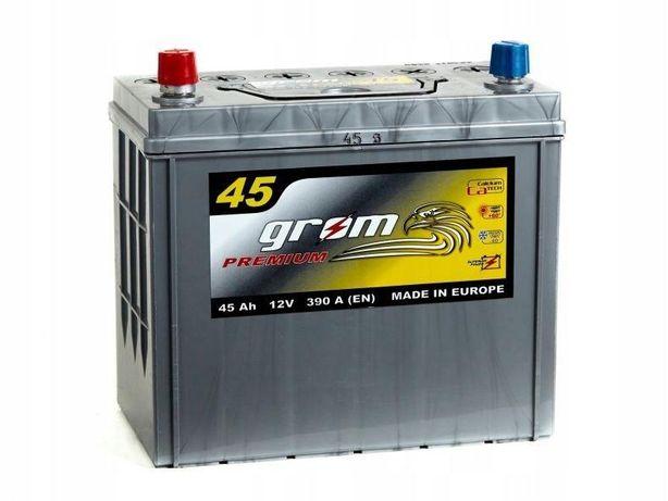 Akumulator Grom Premium 45Ah/390A Japan Lewy plus