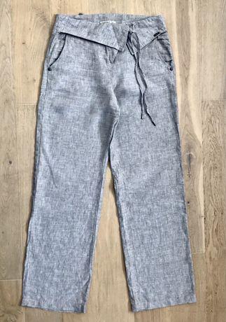Spodnie lniane damskie Timeout r36