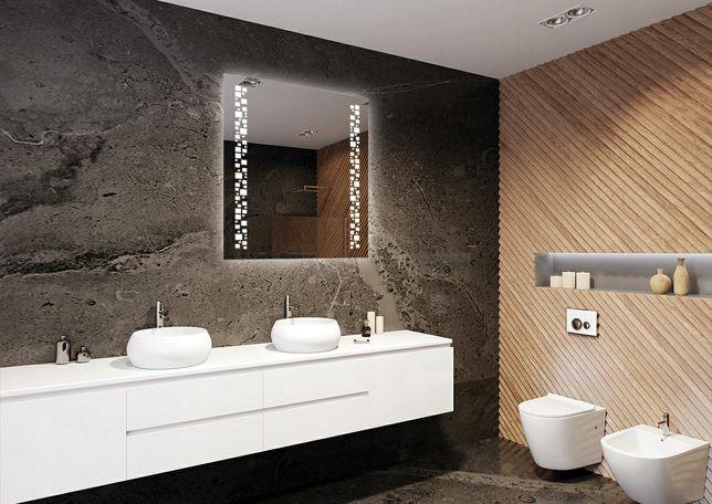 MEGA OKAZJA Lustro LED  Firmy ARTTOR Klasa Premium Wymiary 70x90