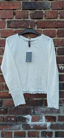 Biala bluzka nowa S