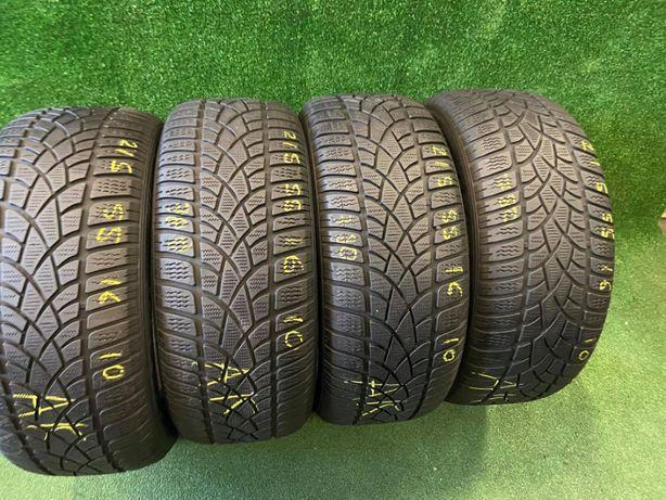 Шини зимові 215х55х16 Dunlop Sp ICE Sport 4шт 5мм+ made in Germany