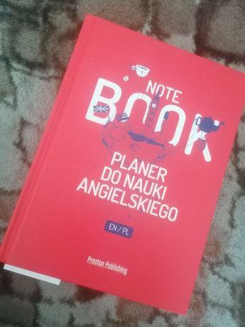 Note book planer do nauki angielskiego