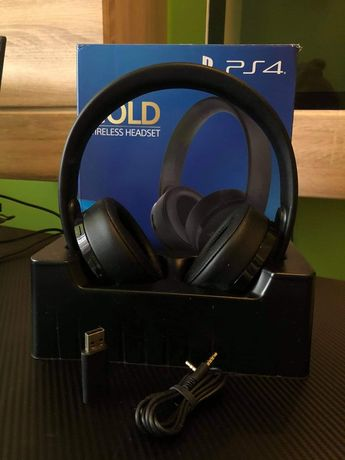 Słuchawki Sony PlayStation 4 Gold