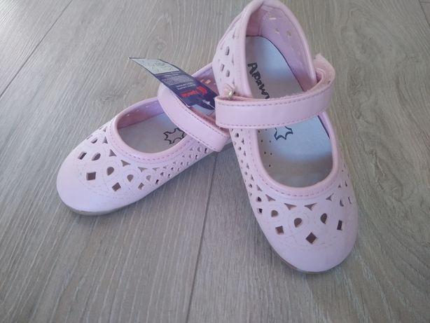 Nowe buciki dla dziewczynki rozmiar 23 .