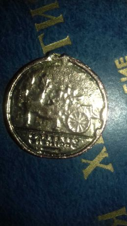 Монета-медальон бигатус (monete e medaglie)