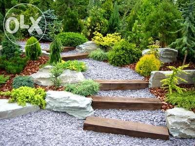 Aranżacja ogrodów.Usługi.Sprzedaż.Nawodnienia automatyczne