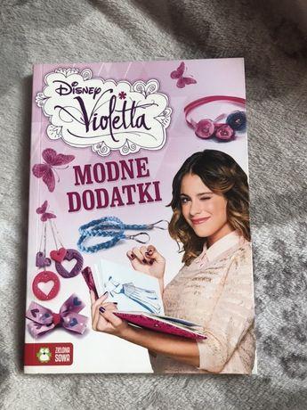 Książka Modne Dodatki Violetta