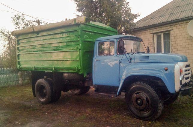 Грузоперевозки.Перевезення зернових та сипучих матеріалів.ЗИЛ-130