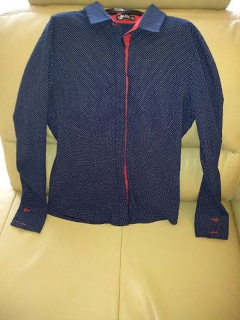 koszula elegancka taliowana bluzka