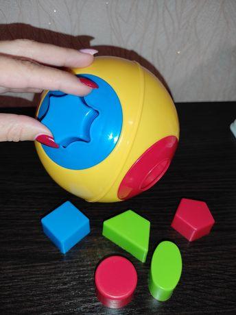 Сортер для развития логики, развивающие игрушки