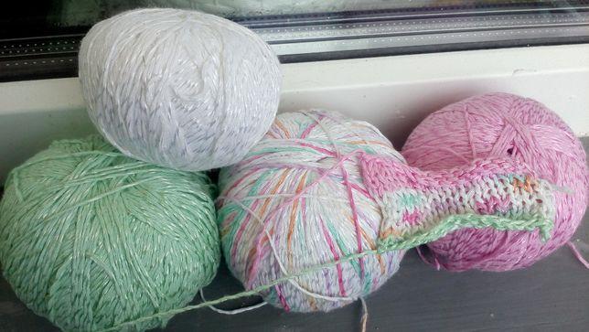 Пряжа (нитки) для вязания YarnArt Summer хлопок с вискозой