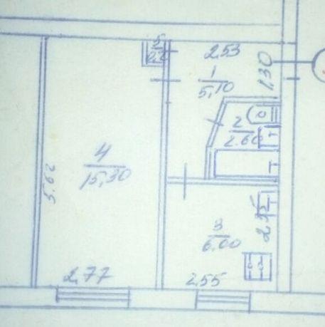 Продам 1-ю квартиру в Славяносербске