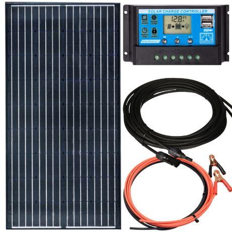 PANEL SOLARNY bateria słoneczna 140W + regulator