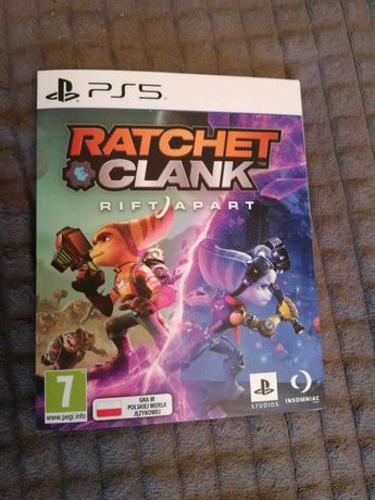 Ratchet and clank rift apart ps5 playstation nowy kod