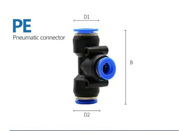 szybkozlączka pneumatyczna PE12