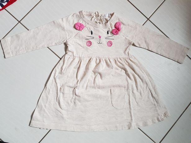 Sukienka dla dziewczynki rozmiar 86
