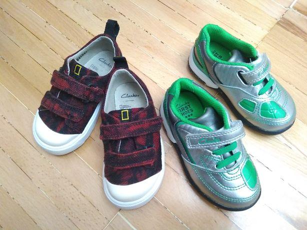 Кросівки кеди Clarks 20 розмір