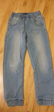 Spodnie jeansy joggery Reserved 152 cm jak nowe