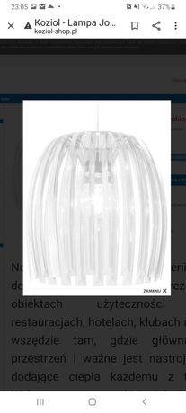 Lampa KOZIOŁ Josephine xl biala