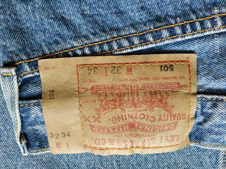 Sprzedam spodnie jeansowe Levis, Levi's Strauss - 501 W32 L34