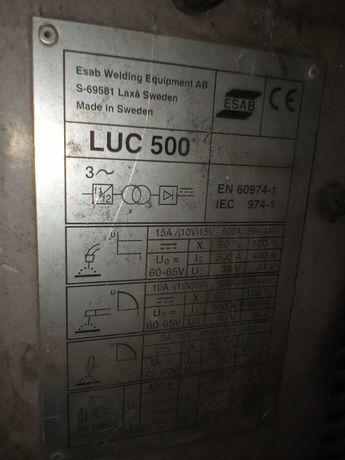 Migomat ESAB LUC 500. Uszkodzony ale kompletny.Na części. Cena 1100zł.