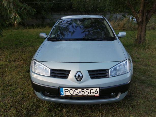 Renault megane 2 klima,03r 1.9dti 120KM 214tys. km