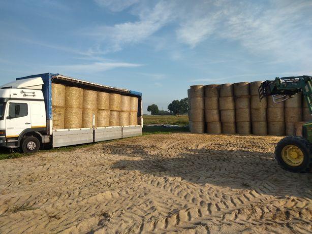 Słoma sucha z dostawą do gospodarstw