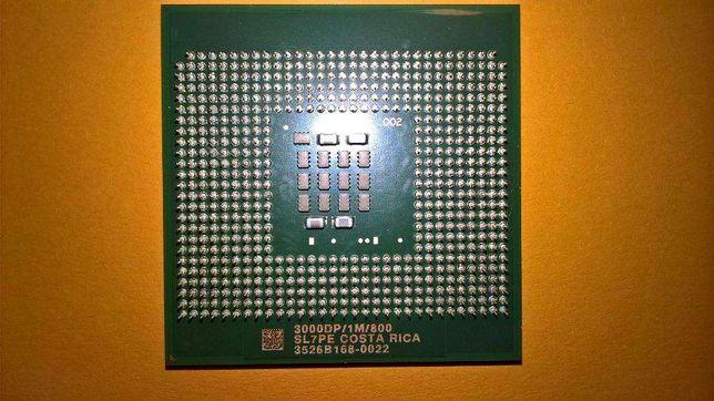 Intel Xeon 3000DP 1M Cache 800Mhz FSB Socket 604 CPU SL7PE 64Bits