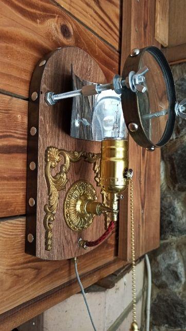 Настенный светильник (бра) в стиле стимпанк