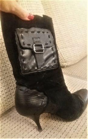 Замшевые ботинки Luciano carvari 38 размер
