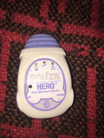 Snuza Hero monitor czujnik oddechu niemowląt
