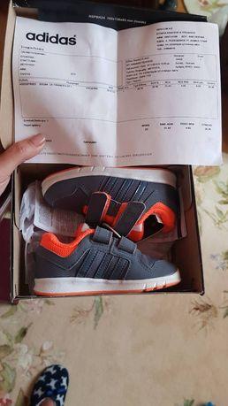 Новые детские кроссовки Adidas LK Trainer CF 6, стелька 14,3 см