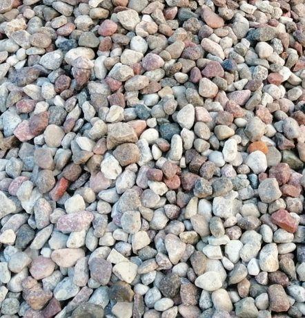 Żwiry, kamień drenażowy