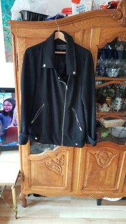 elegancka czarna ramoneska rozmiar 40 firmy new Look