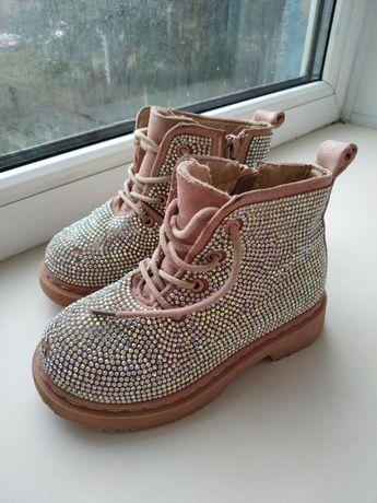 Деми ботиночки. Осенние ботинки. Обувь для девочки.