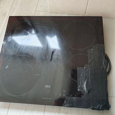 Placa de indução AEG vidro partido