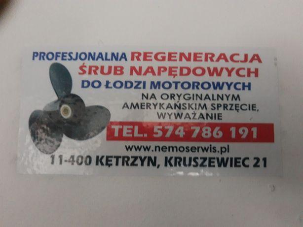 Profesjonalna regeneracja śrub napędowych do motorówek