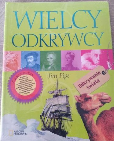 Książka Wielcy odkrywcy
