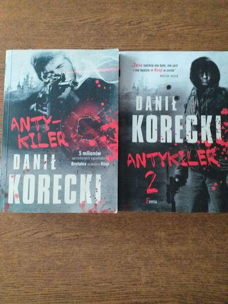 Książka ANTYKILER Danił Korecki