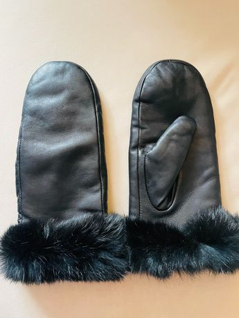 Skórzane rękawiczki OCHNIK